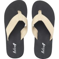 Onfire Mens Toe Post Sandals Ecru/Black