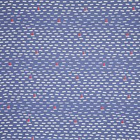 John Lewis & Partners Lost at Sea PVC Table Covering Fabric, Blue