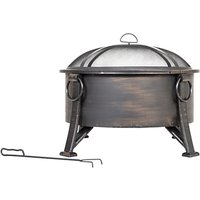 La Hacienda Amberley Firepit, Brushed Bronze
