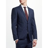 Kin Windowpane Check Slim Fit Suit Jacket, Navy