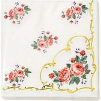 Talking Tables Chintz Table Napkin, Pack of 16