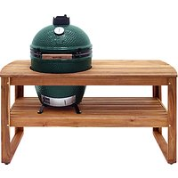 Big Green Egg Large BBQ and Wood Table Bundle
