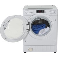 CANDY CBWD 8514DC Integrated 8 kg Washer Dryer - White, White