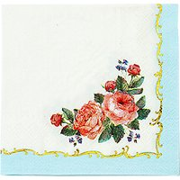 Talking Tables Chintz Cocktail Napkin, Pack of 16