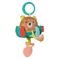 Skiphop Camping Cubs Jitter Stroller Toy