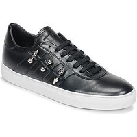 John Galliano  4722  men's Shoes (Trainers) in Black