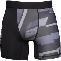 Reebok Mens One Series Speedwick Compression Brief Shorts Black