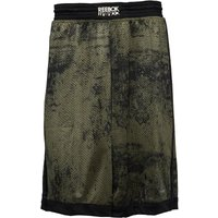 Reebok Mens RNF Combat Speedwick Boxing Shorts Canopy Green