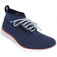 Muroexe  Volcano Men's Casual Ankle Boots  men's Mid Boots in Blue