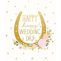 Woodmansterne Lucky Couple Wedding Card