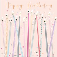 Bellybutton Bubble Birthday Candles Card