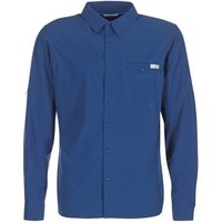 Columbia  TRIPLE CANYON SOLID LONG SLEEVE SHIRT  men's Long sleeved Shirt in Blue