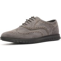 Reservoir Shoes  Derbies with Round Tips  men's Casual Shoes in Grey