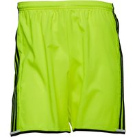 adidas Mens Condivo 16 3 Stripe Climacool Shorts Solar Yellow/Black