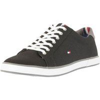 Tommy Hilfiger  Men's Flag Canvas Trainers, Black  men's Shoes (Trainers) in Black