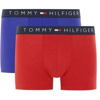 Mens Multi TOMMY HILFIGER'S Red And Blue Trunks 2 Pack*, Multi