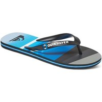 Quiksilver  Molokai Slash Logo - Chancletas  men's Flip flops / Sandals (Shoes) in Blue