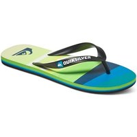 Quiksilver  Molokai Slash Logo - Chancletas  men's Flip flops / Sandals (Shoes) in Multicolour