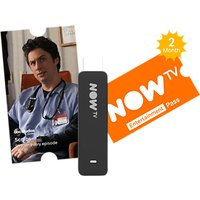 NOW TV Smart Stick with Voice Search & 2 Month Entertainment Pass