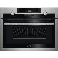 AEG KME561000M Electric Oven with Microwave- Stainless Steel, Stainless Steel