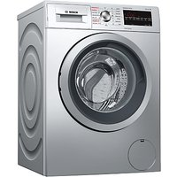 Bosch WVG3047SGB Freestanding Washer Dryer, 7kg Wash/4kg Dry Load, A Energy Rating, 1500rpm Spin, Si