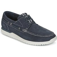 Rockport  LANGDON 3 EYE OX  men's Boat Shoes in Blue