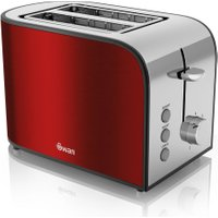 SWAN Townhouse ST17020REDN 2-Slice Toaster - Red, Red