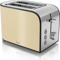 SWAN Townhouse ST17020CREN 2-Slice Toaster - Cream, Cream