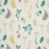 John Lewis & Partners Eskel Furnishing Fabric, Green