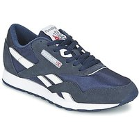 Reebok Classic  CLASSIC NYLON  men's Shoes (Trainers) in Blue