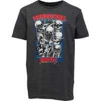 Brave Soul Junior Boys Bandit Graphic T-Shirt Grey