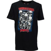 Brave Soul Junior Boys Bandit Graphic T-Shirt Black