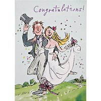 Woodmansterne Tied The Knot Wedding Card
