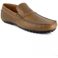 Peter Blade  Loafer  Cognac Leather OREGON  men's Loafers / Casual Shoes in multicolour