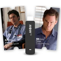 NOW TV Smart Stick with 2 Month Entertainment Pass
