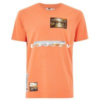 Mens Pink Coral 'Ensign' T-Shirt, Pink