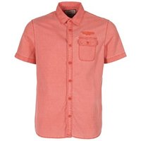 Petrol Industries  OBOULAI  men's Short sleeved Shirt in Red