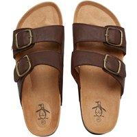 Original Penguin Mens Port Sandals Brown