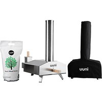 Ooni 3 Pizza Oven, Cover Bag and Pellets Set