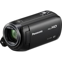 Panasonic HC-V380EB Camcorder, Wi-Fi, HD 1080p, 2.5MP Movie/10MP Still, 50x Optical Zoom, 90x Intell