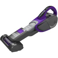 BLACK DECKER DVJ325BFSP-GB Handheld Vacuum Cleaner - Grey & Purple, Black