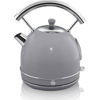 SWAN Retro SK34021GRN Traditional Kettle - Grey, Grey