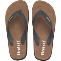 Firetrap Mens Beach Sandals Black