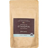 John Lewis & Partners Fair Trade Ethiopian Coffee Beans, 250g