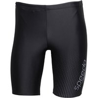 Speedo Mens Gala Logo Jammer Shorts Black/Charcoal