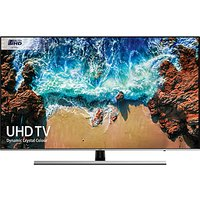 Samsung UE49NU8000 HDR 1000 4K Ultra HD Smart TV, 49 with TVPlus/Freesat HD, Dynamic Crystal Colour