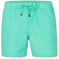 Mens Mint Green Embroidered Logo Swim Shorts, GREEN