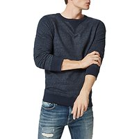 SELECTED HOMME Simon Crew Neck Sweatshirt, Dark Sapphire