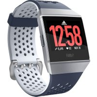 FITBIT Ionic Adidas Edition - Ink Blue & Silver Grey, Blue