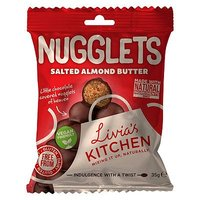 Livia's Nugglets - Salted Almond Butter (35g)